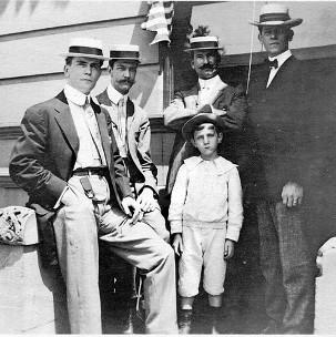 Joseph Henry Scholtz Jr. & Joseph Henrique Scholtz - 1910